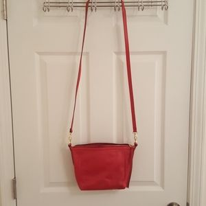 Red Fossil crossbody